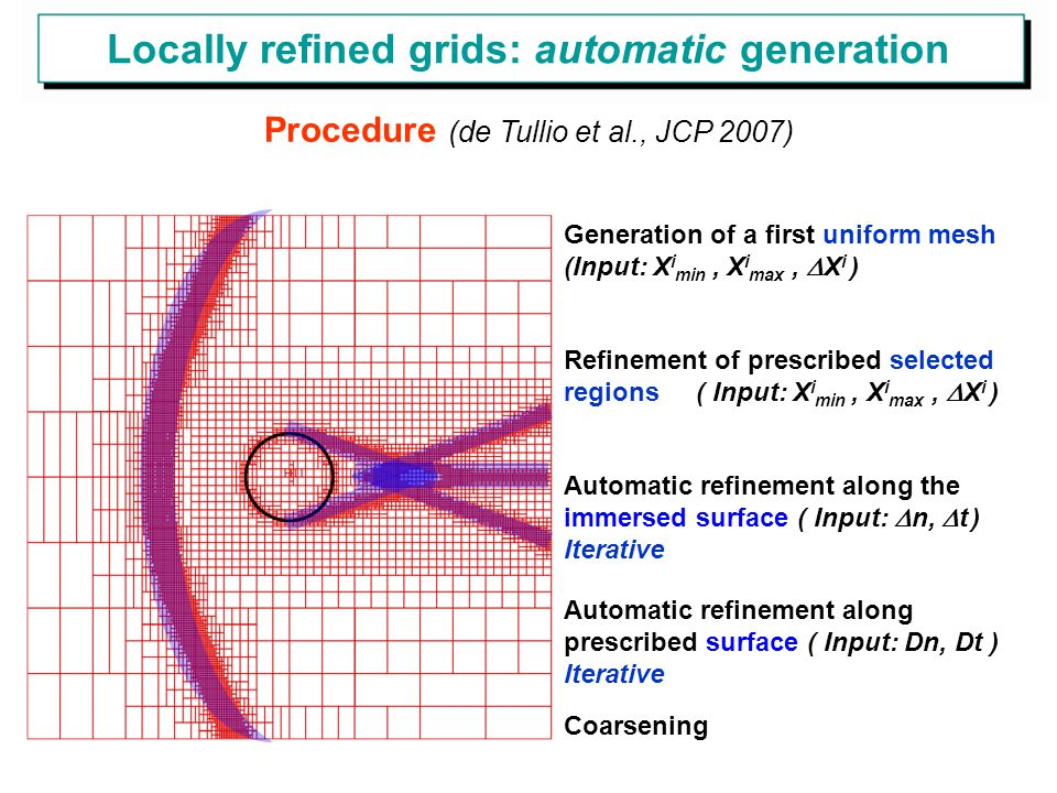 Locally refined grids: automatic generation