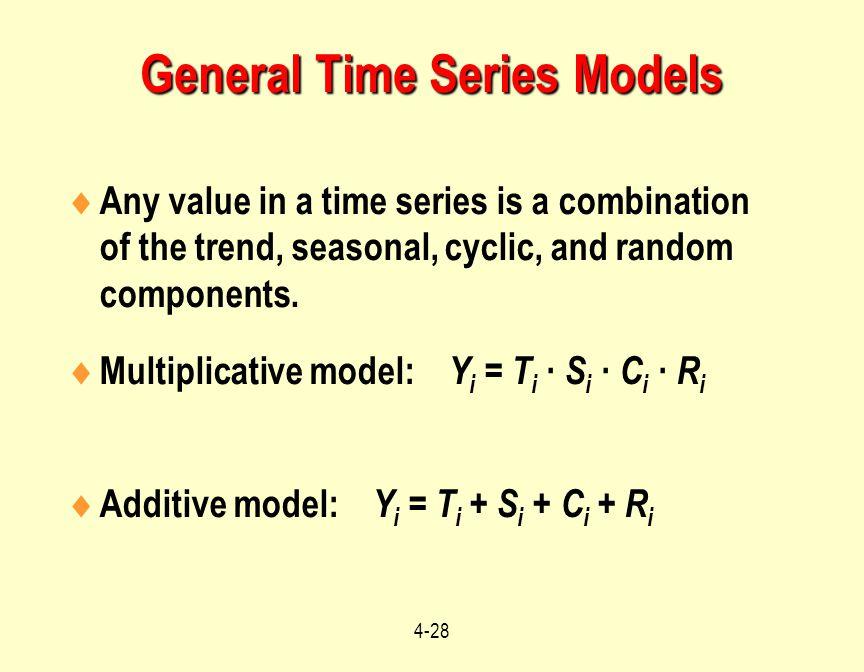 General Time Series Models