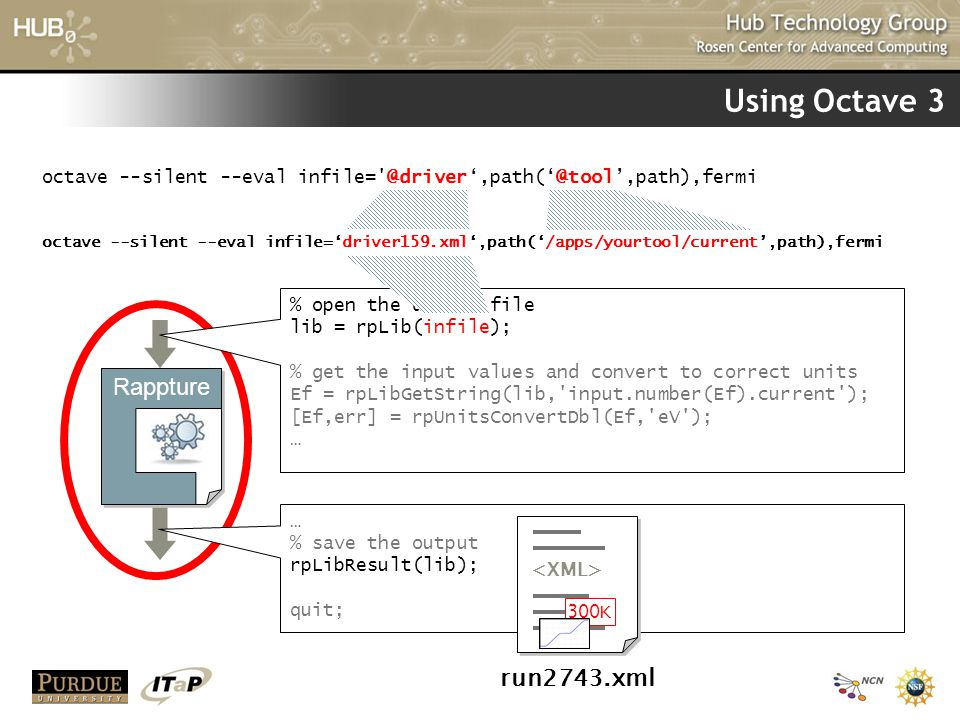 Using Octave 3 Rappture run2743.xml