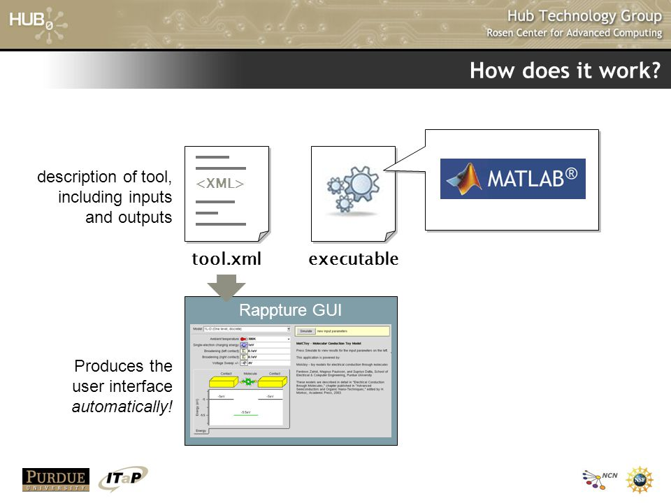 How does it work tool.xml executable