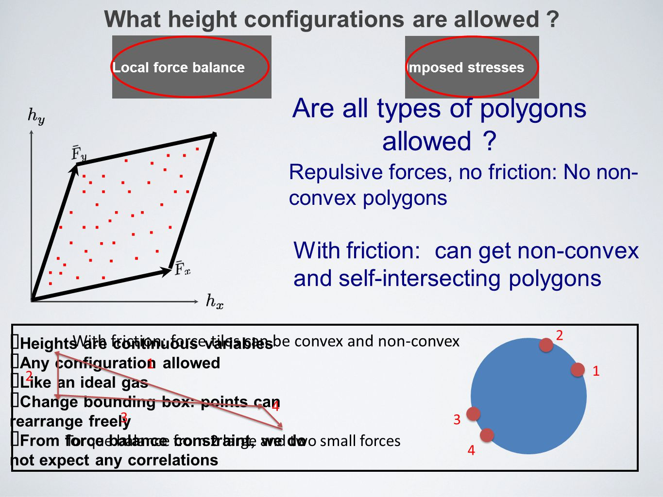 What height configurations are allowed
