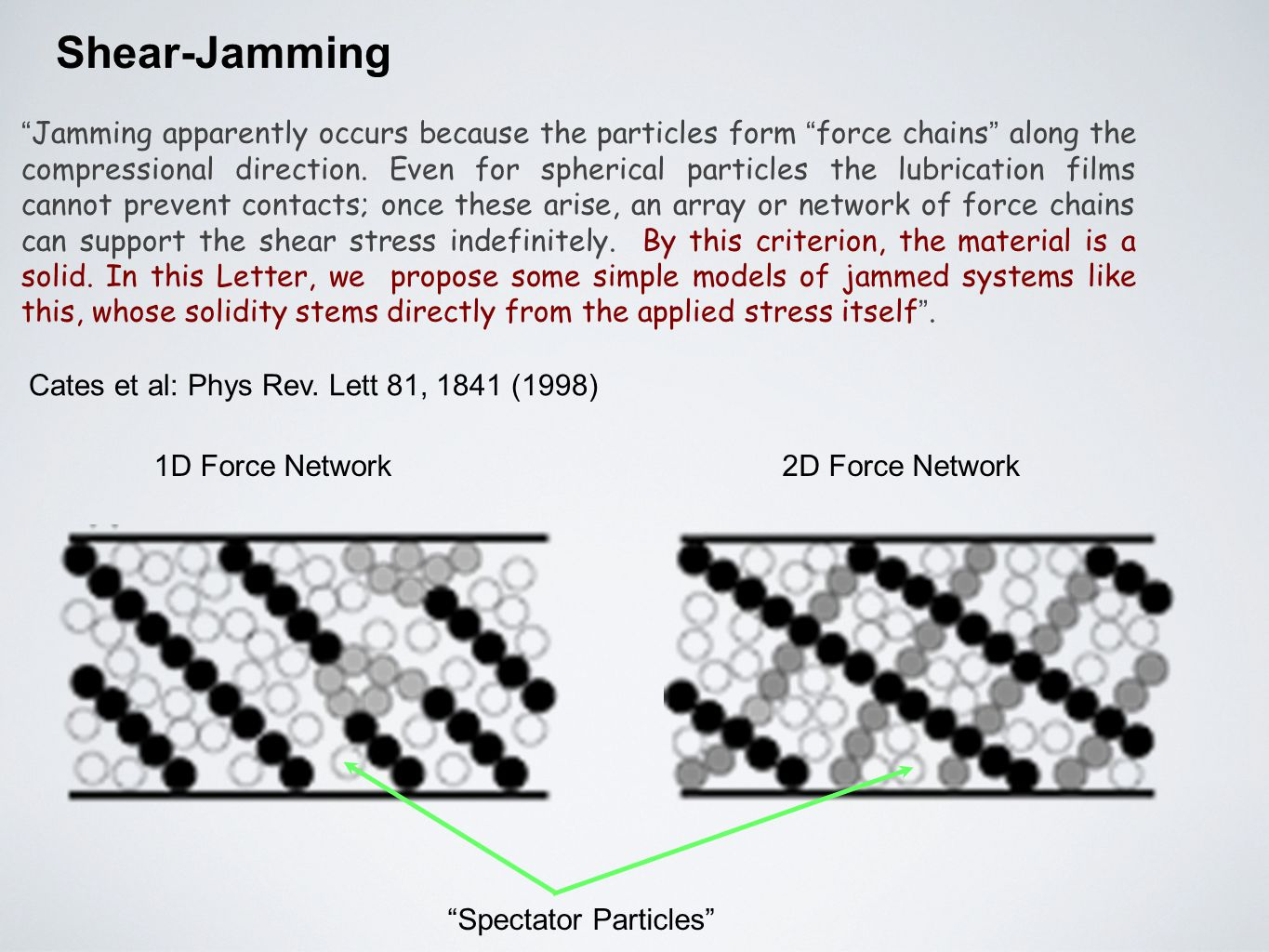 Shear-Jamming