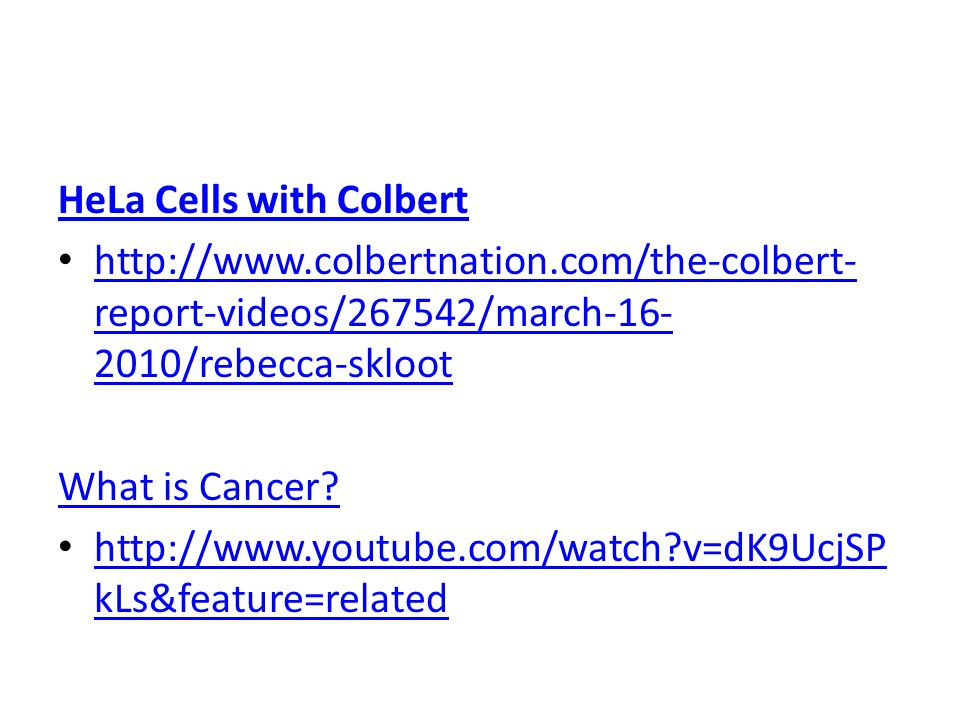 HeLa Cells with Colbert