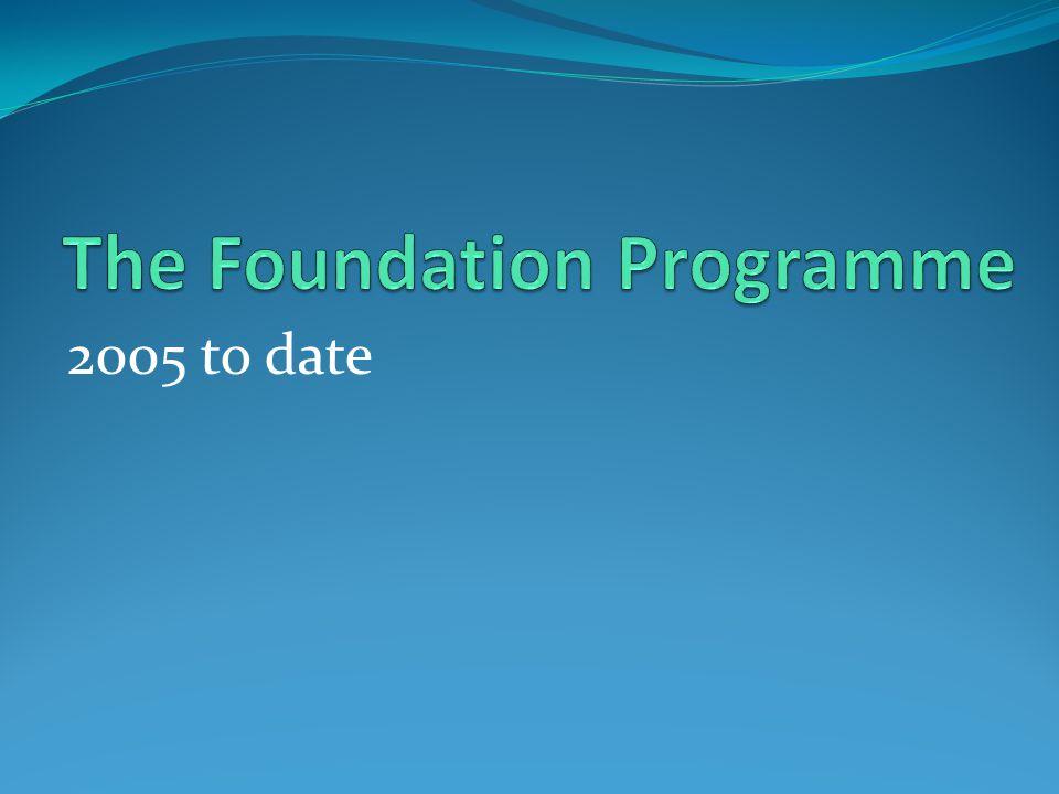 The Foundation Programme