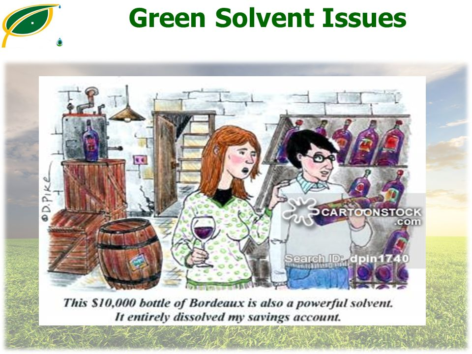 Green Solvent Issues
