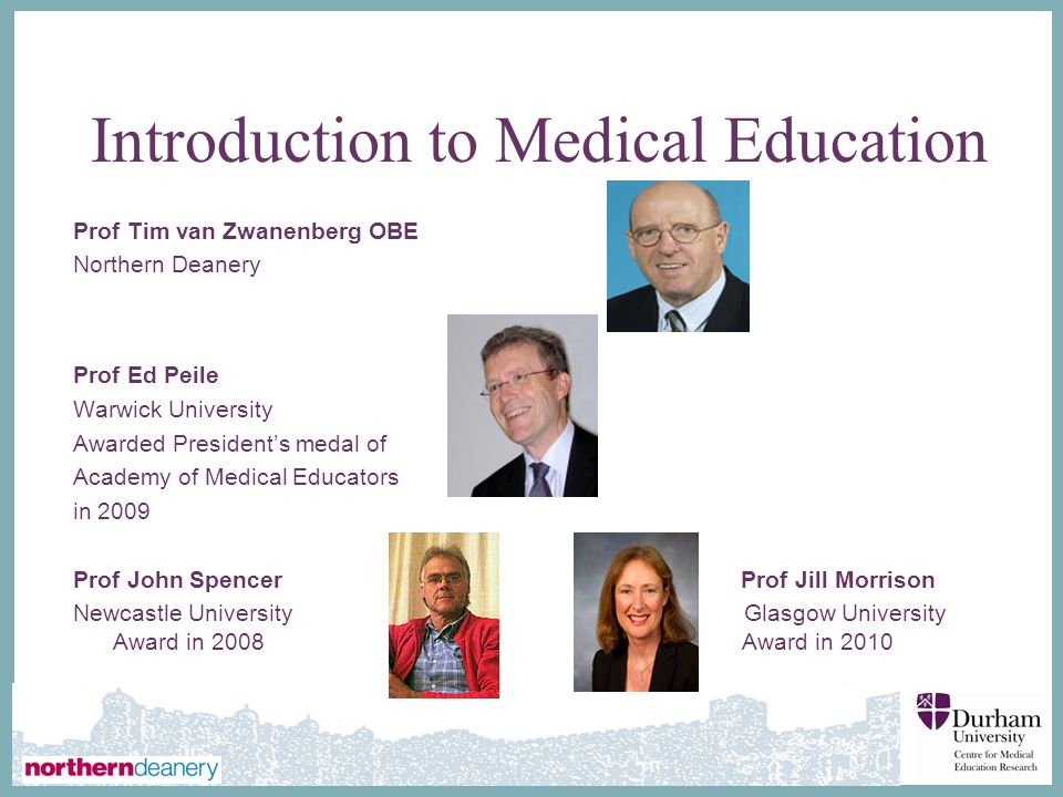 Introduction to Medical Education