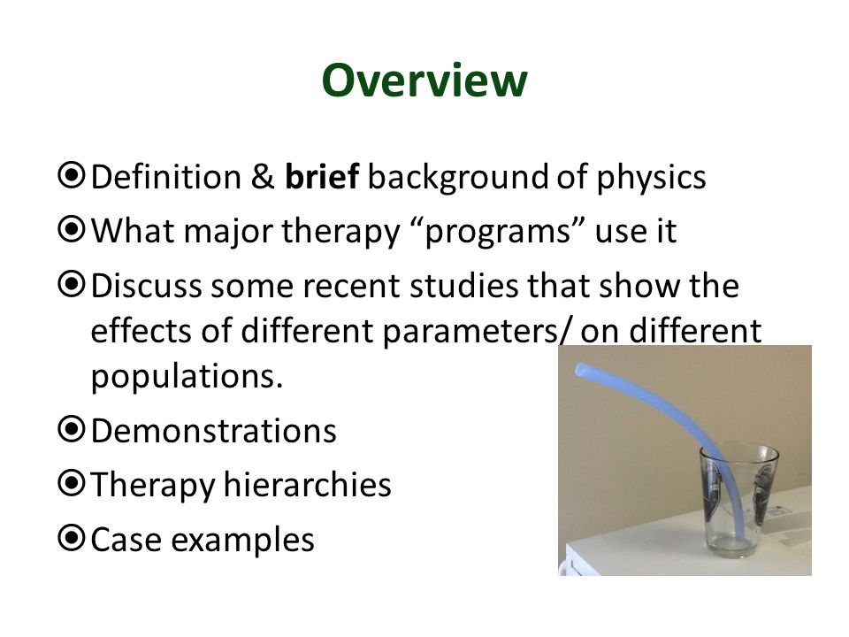 Overview Definition & brief background of physics