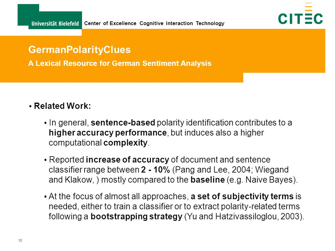 GermanPolarityClues A Lexical Resource for German Sentiment Analysis