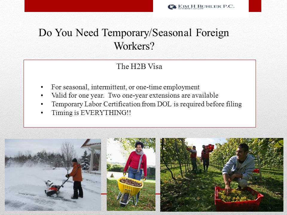 Immigration Law For The Green Industry - ppt download
