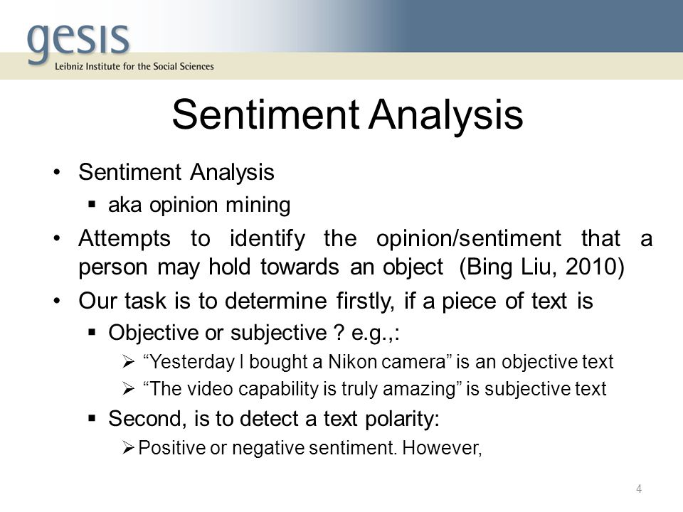Sentiment Analysis Sentiment Analysis