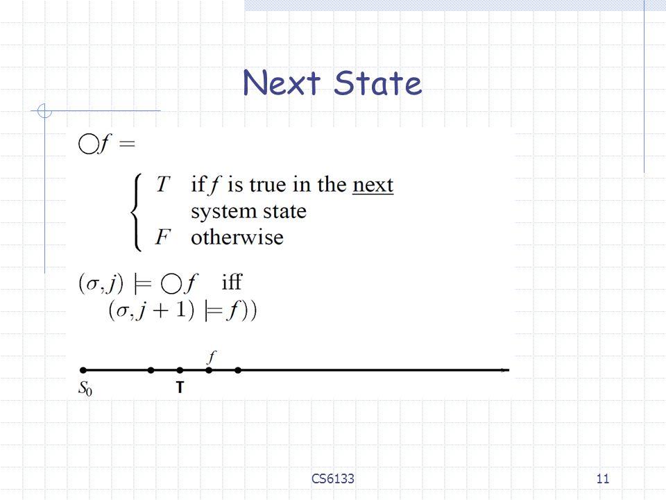 Next State CS6133