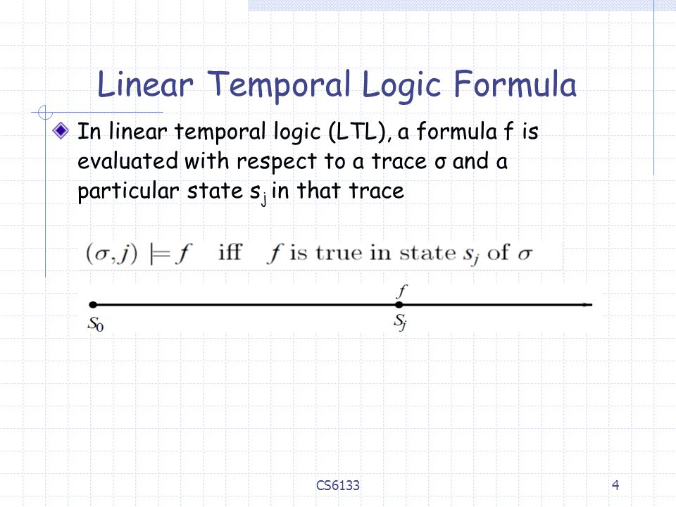 Linear Temporal Logic Formula