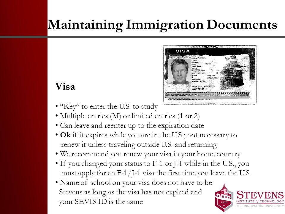 Maintaining Immigration Documents