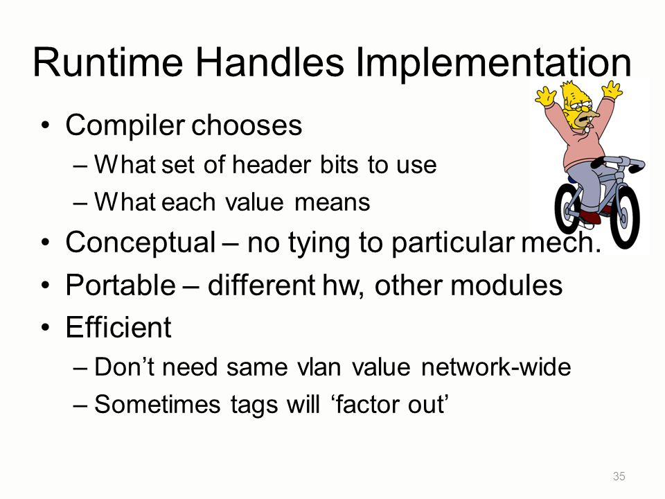 Runtime Handles Implementation