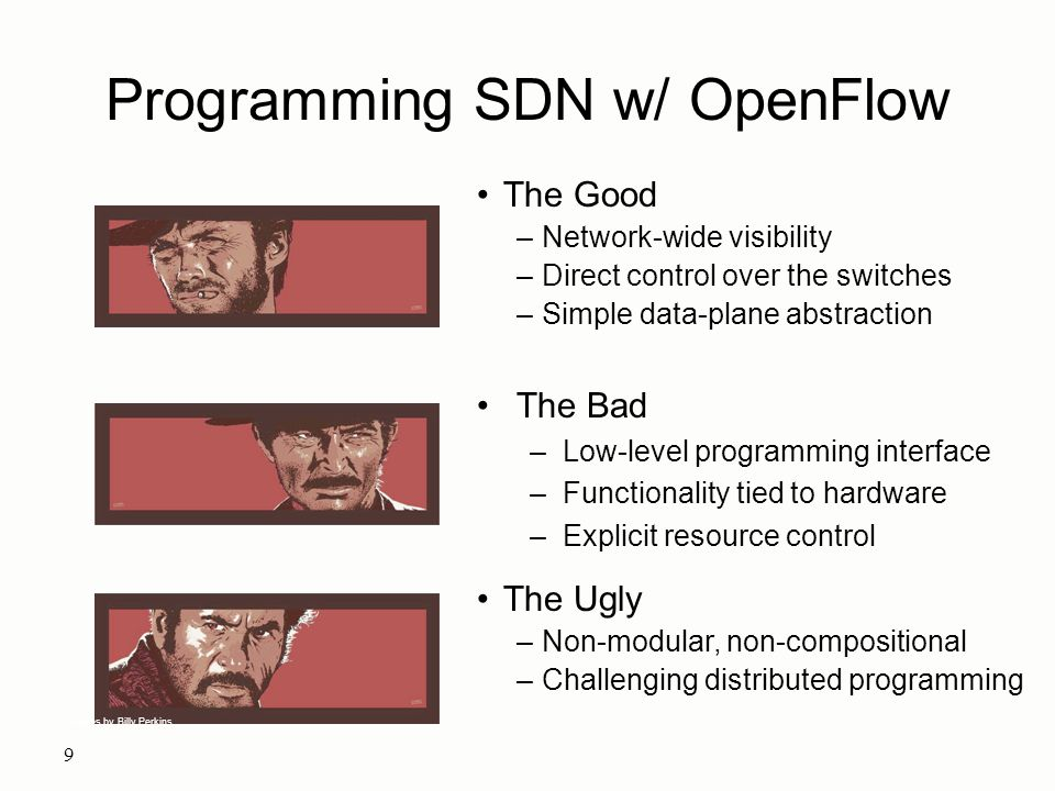 Programming SDN w/ OpenFlow