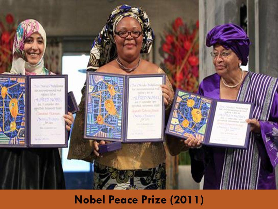 Nobel Peace Prize (2011)