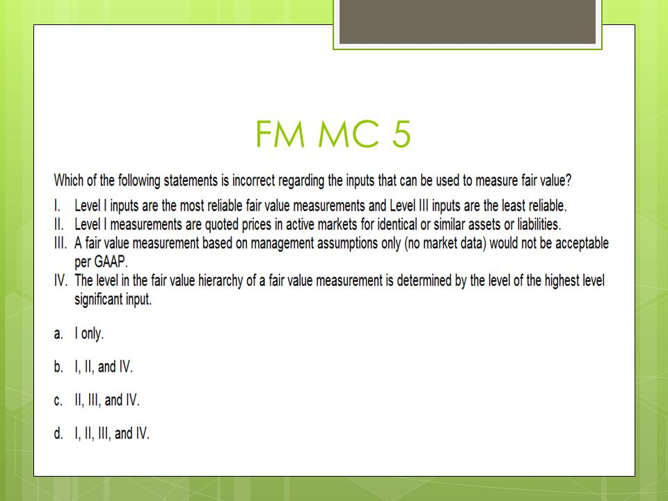 FM MC 5