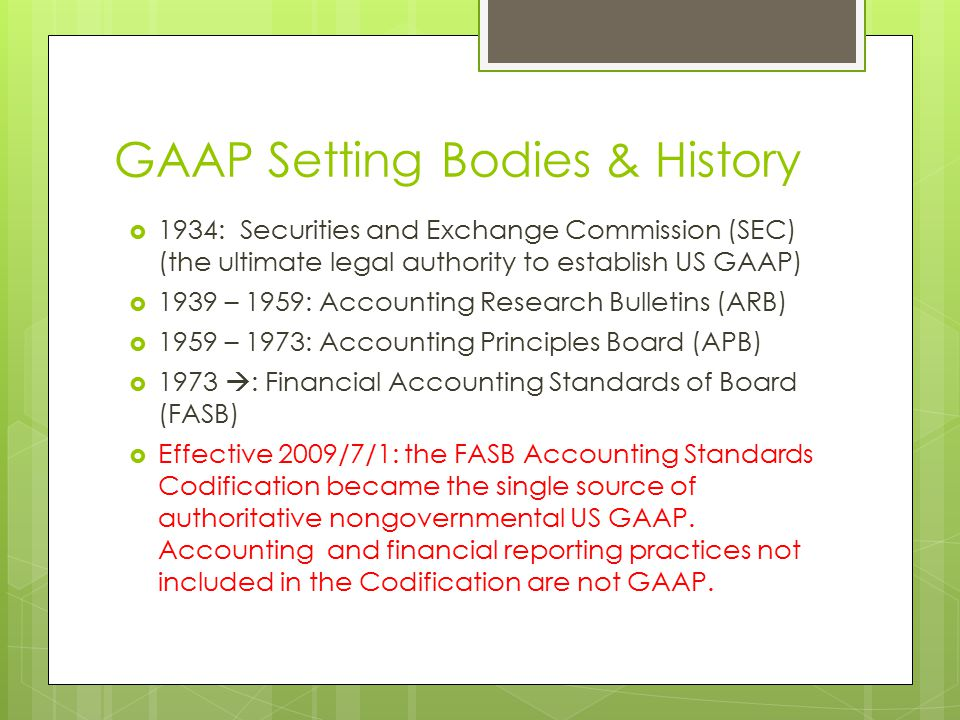 generally accepted accounting principles paper essay Accounting for business combinations and the convergence of international financial reporting standards with us generally accepted accounting principles: a case study journal of the international academy for case studies, 16(1), 95-108.