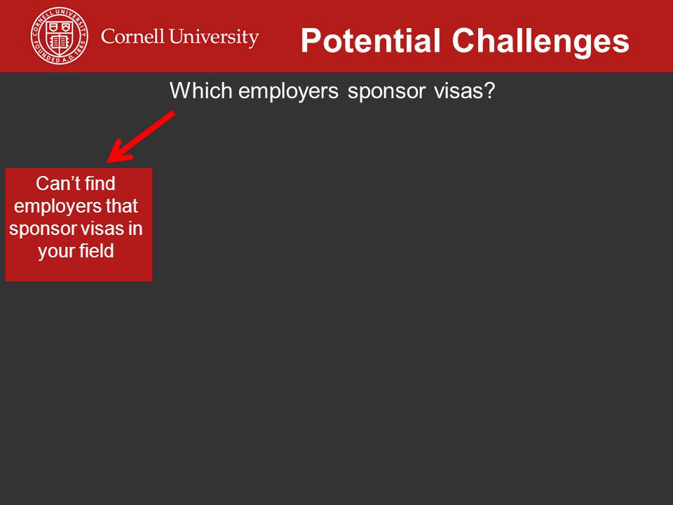 Can't find employers that sponsor visas in your field