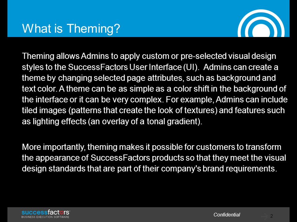 What is Theming