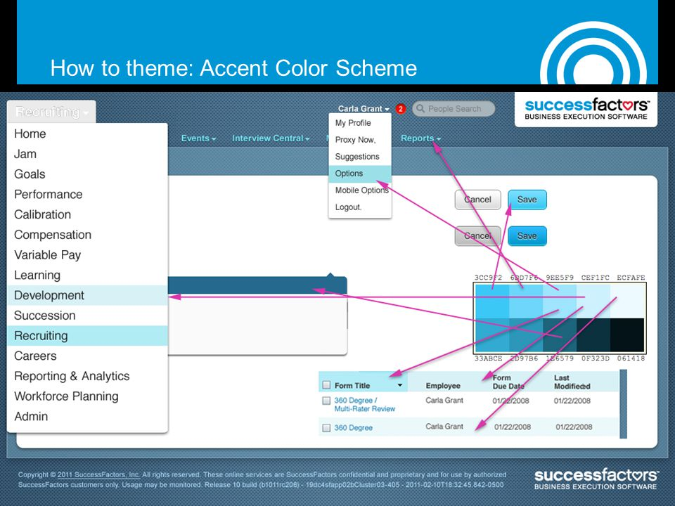 How to theme: Accent Color Scheme