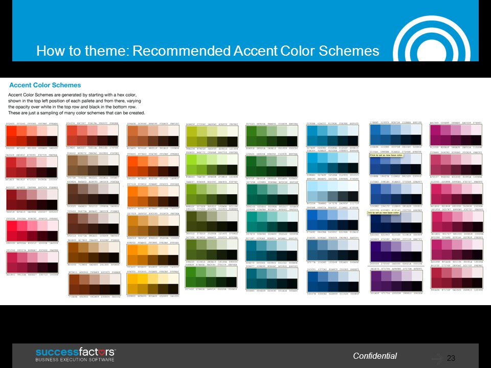How to theme: Recommended Accent Color Schemes