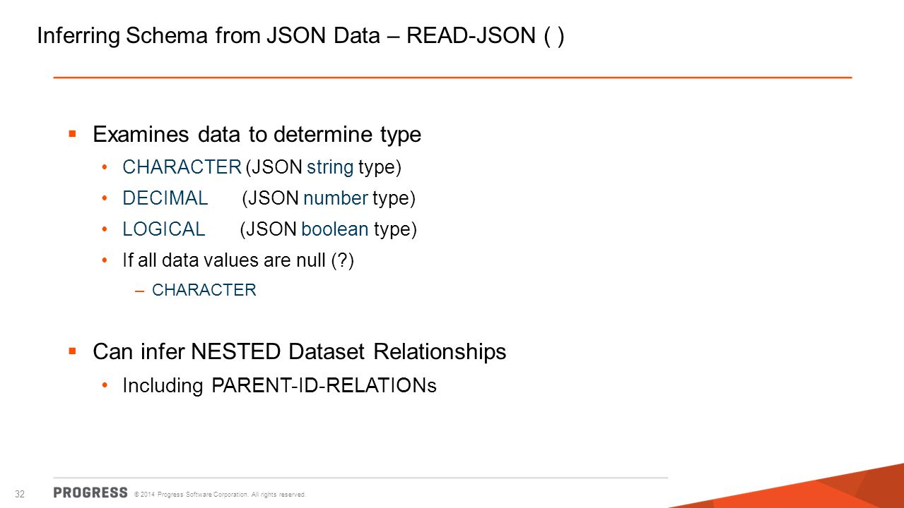 Inferring Schema from JSON Data – READ-JSON ( )