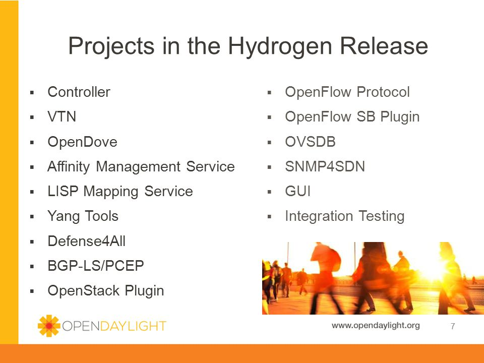 Projects in the Hydrogen Release