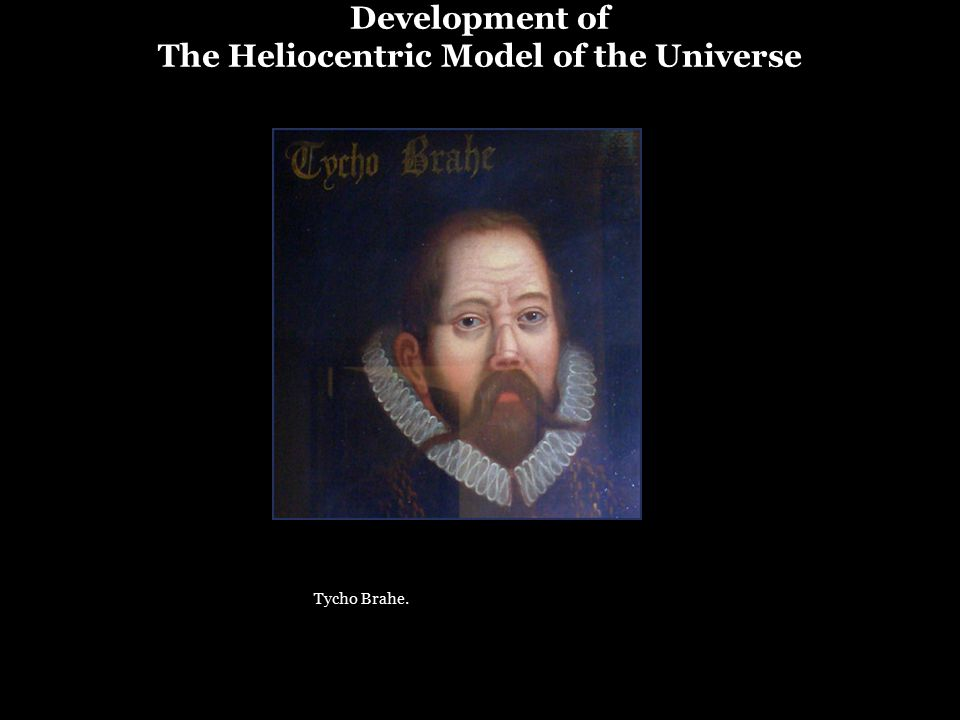 Development of The Heliocentric Model of the Universe