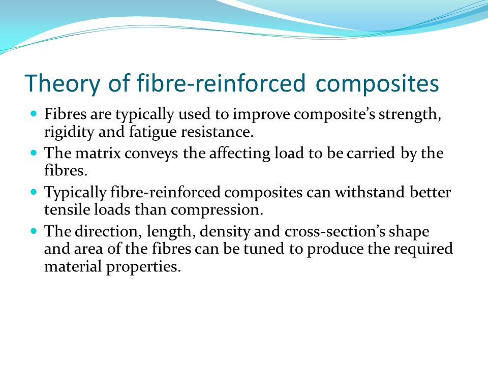 Theory of fibre-reinforced composites