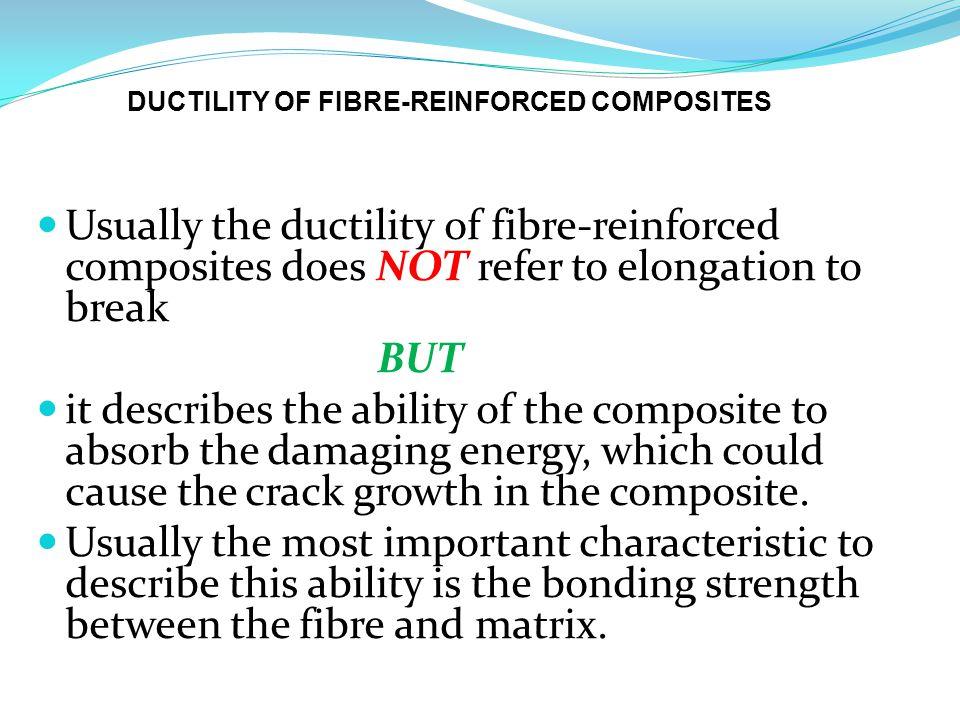 DUCTILITY OF FIBRE-REINFORCED COMPOSITES