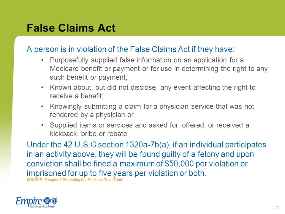 What is a False Claim? - Whistleblower Healthcare Fraud ...