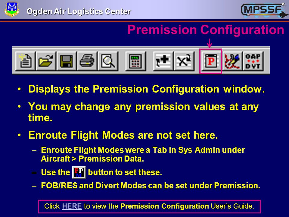 Premission Configuration