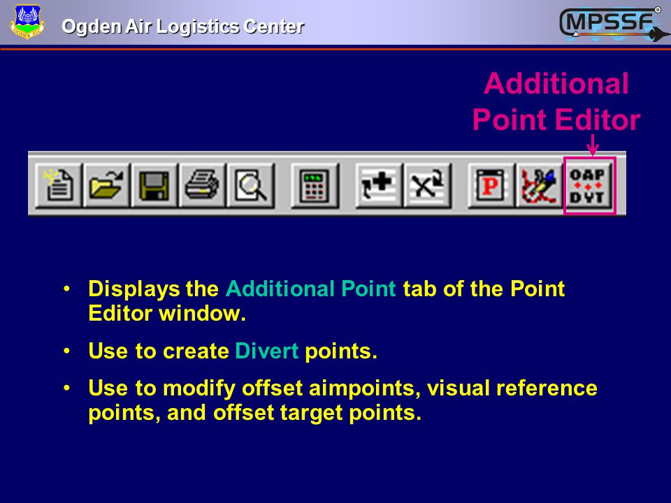 Additional Point Editor