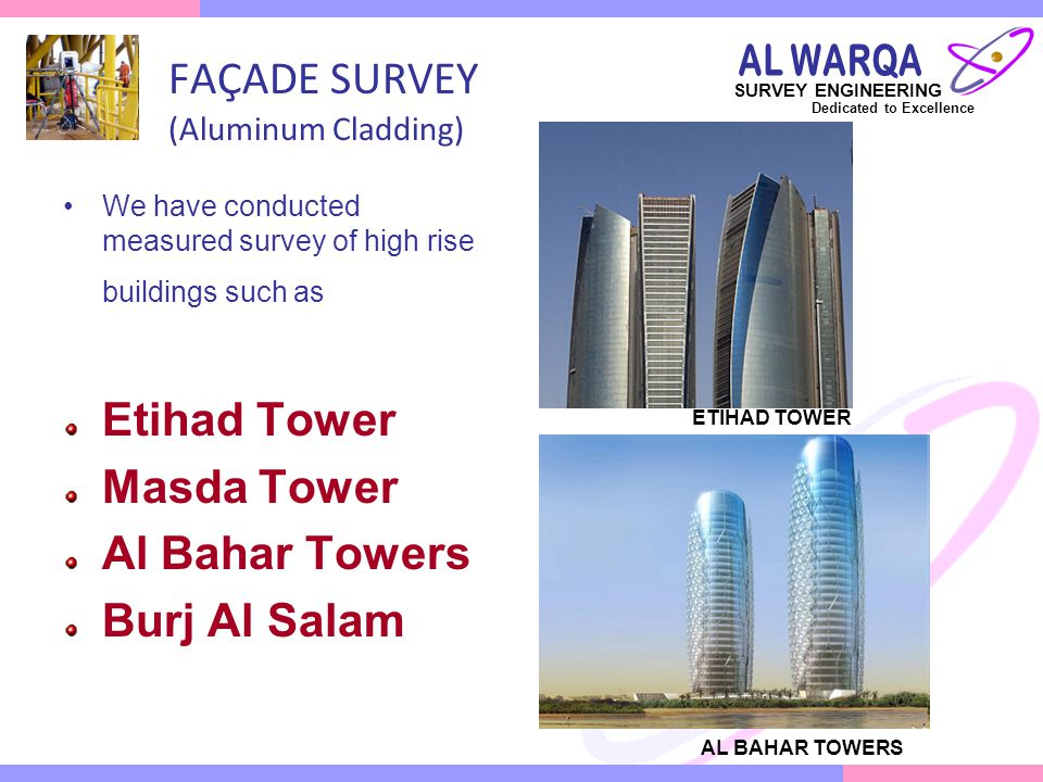 FAÇADE SURVEY (Aluminum Cladding)