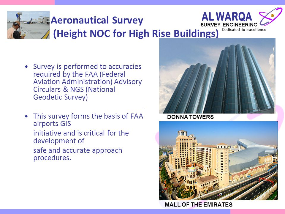 Aeronautical Survey (Height NOC for High Rise Buildings)