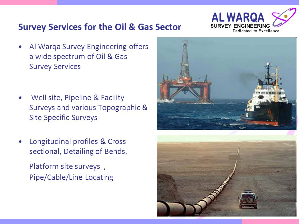 Survey Services for the Oil & Gas Sector