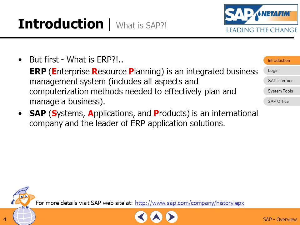 Introduction | What is SAP !