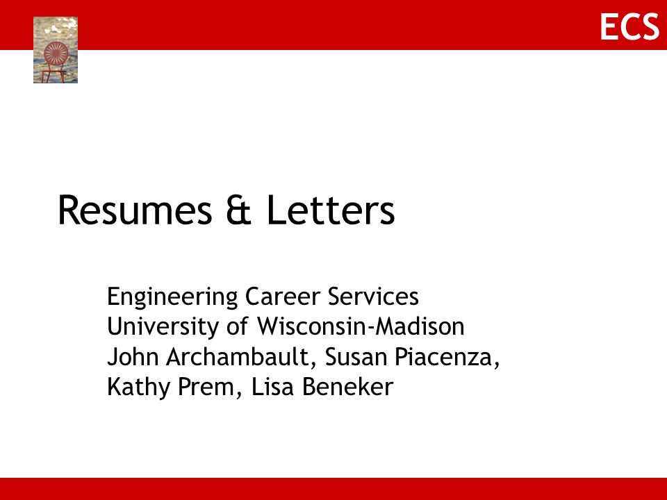 Resumes & Letters Engineering Career Services