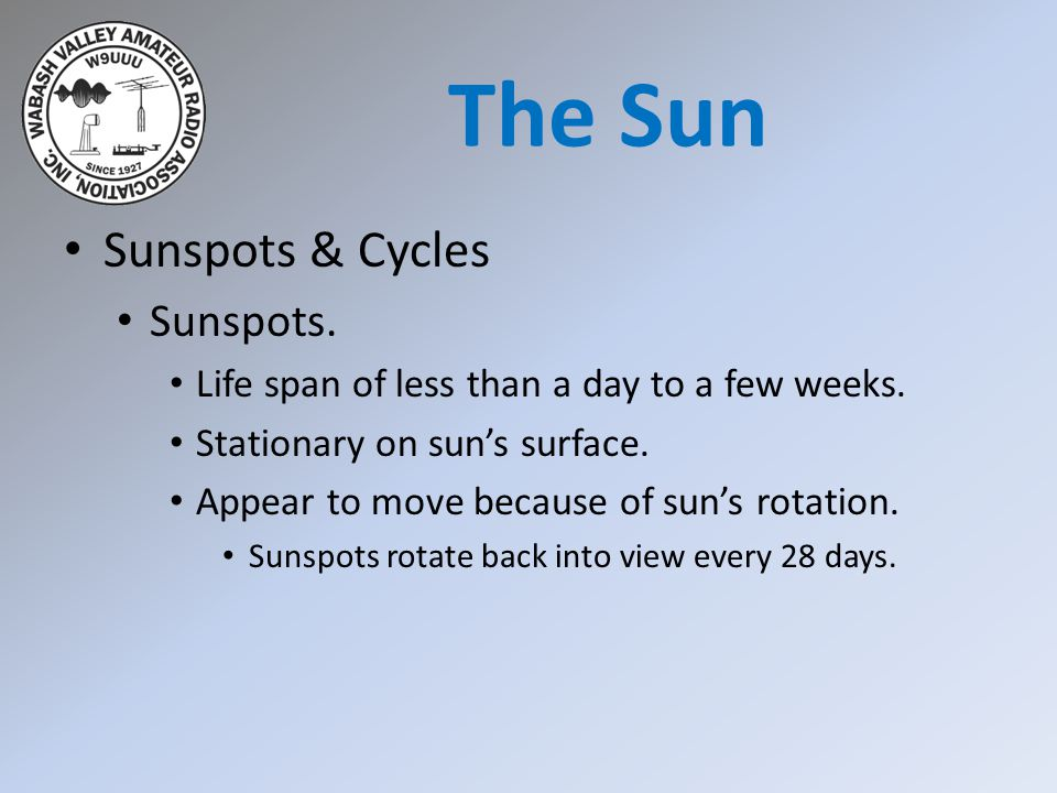 The Sun Sunspots & Cycles Sunspots.