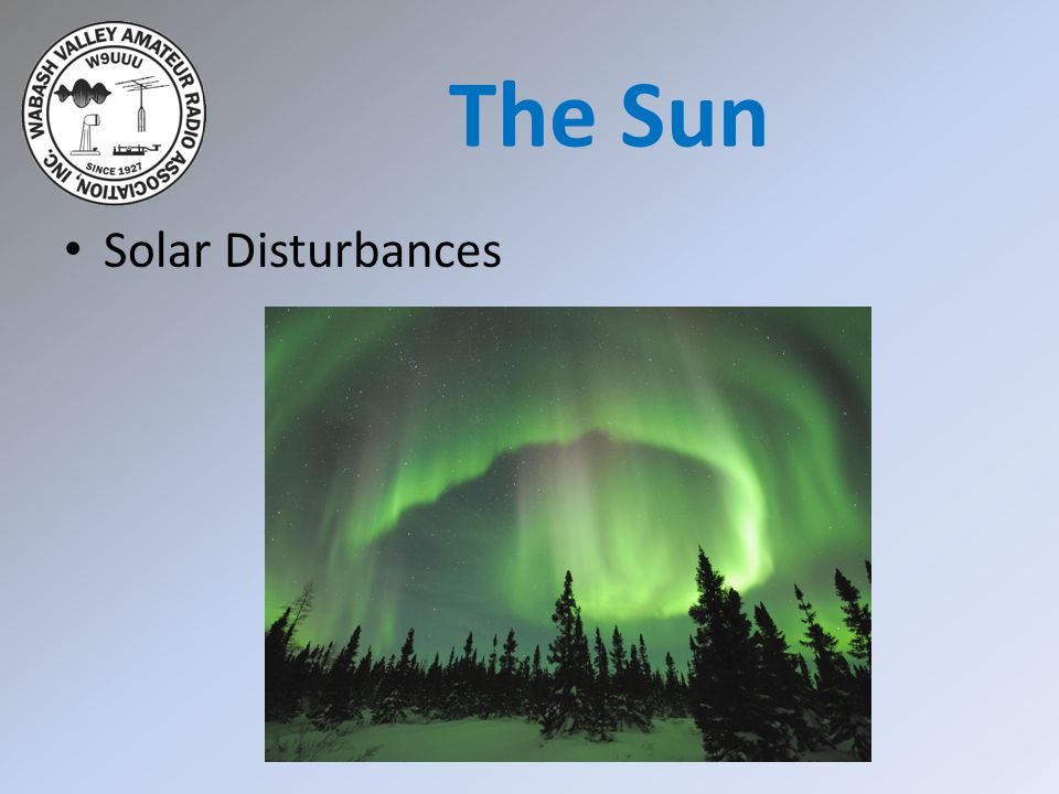 The Sun Solar Disturbances