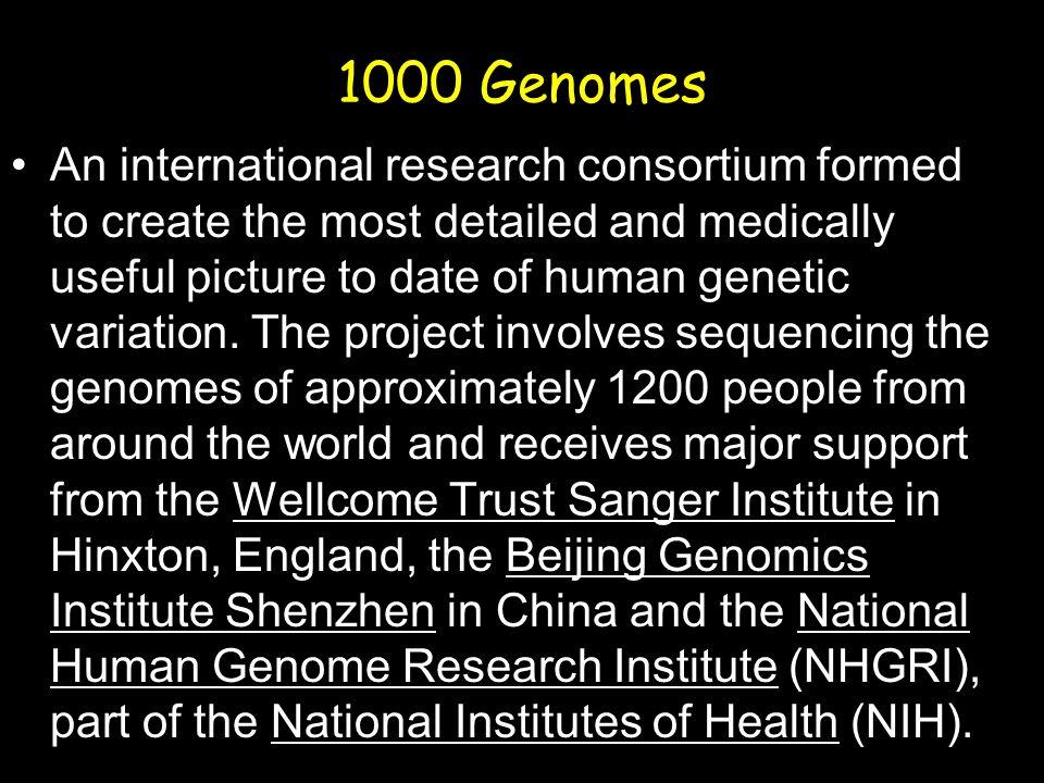 1000 Genomes