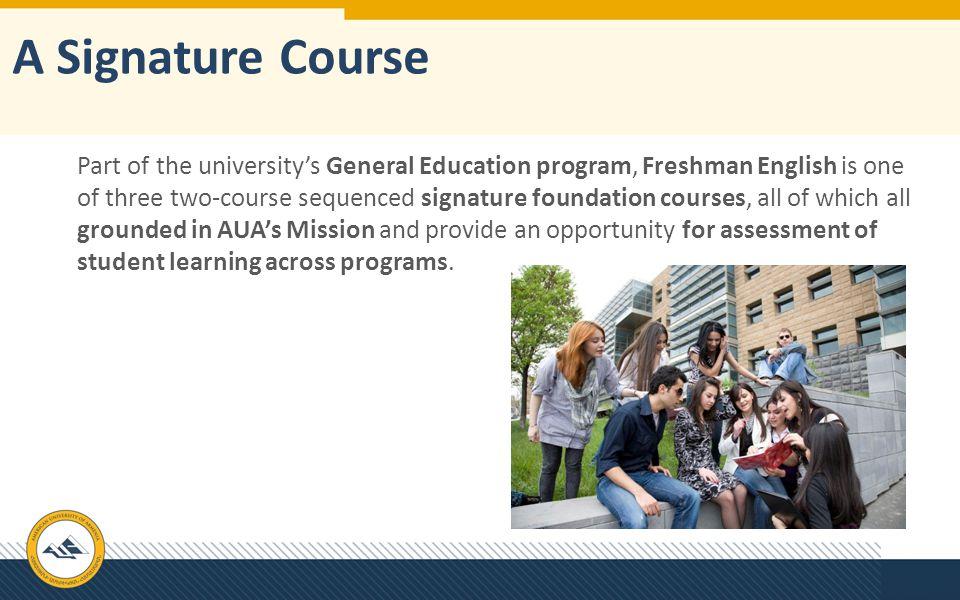 A Signature Course
