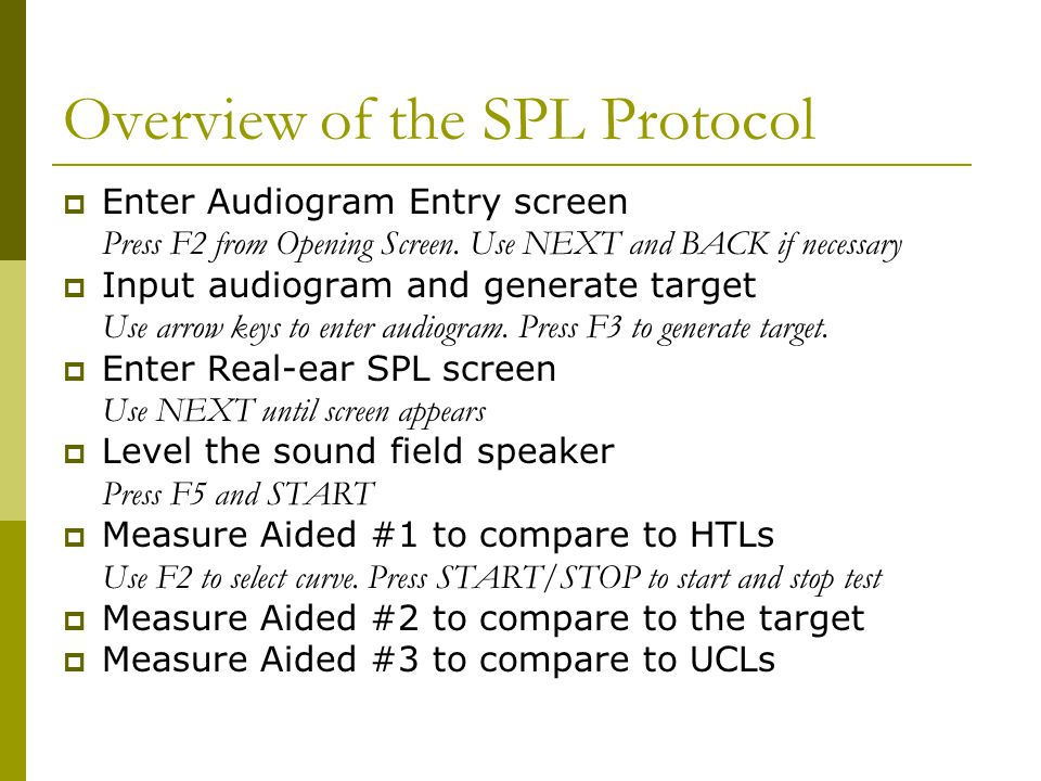 Overview of the SPL Protocol