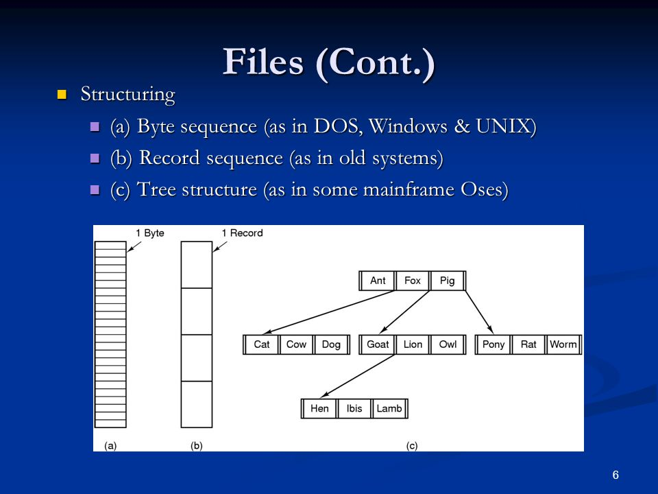 Chapter 4 : File Systems What is a file system? - ppt download