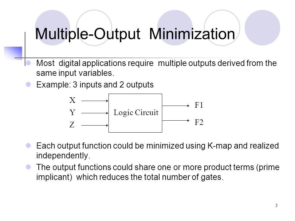 Multiple-Output Minimization