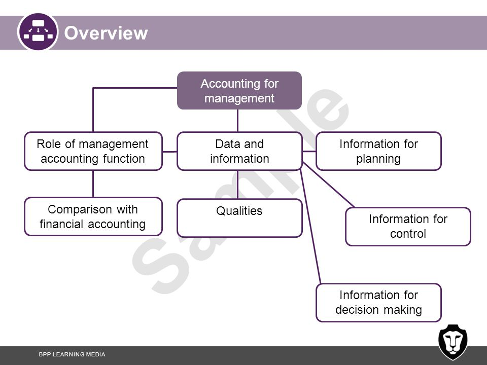 Overview Accounting for management