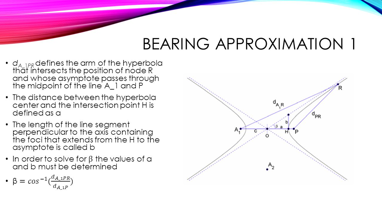 Bearing approximation 1