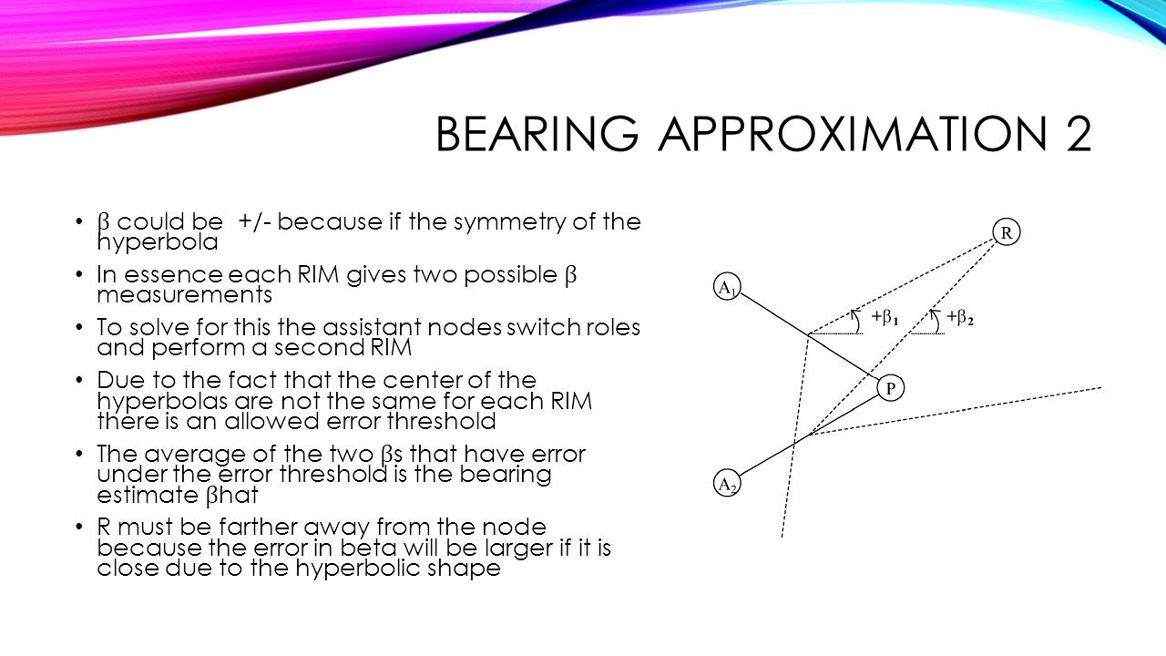 Bearing approximation 2