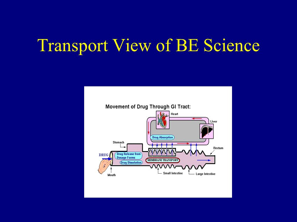 Transport View of BE Science